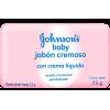 2-Pack, Jabón Cremoso Humectante Johnson's® Baby, 75 Gramos Cada Unidad