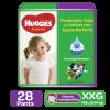 Pañales Huggies Active Sec XXG Mega, 28 Uds