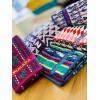 Toalla de manos 100% Algodón - Multicolor - 16x27 Pulgadas - Comalapa