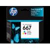 HP - 667 - Ink Cartridge - Tricolor - 3YM78AL