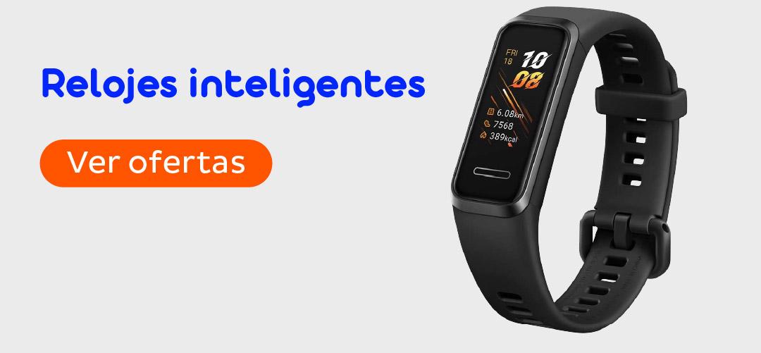 ofertas en relojes inteligentes